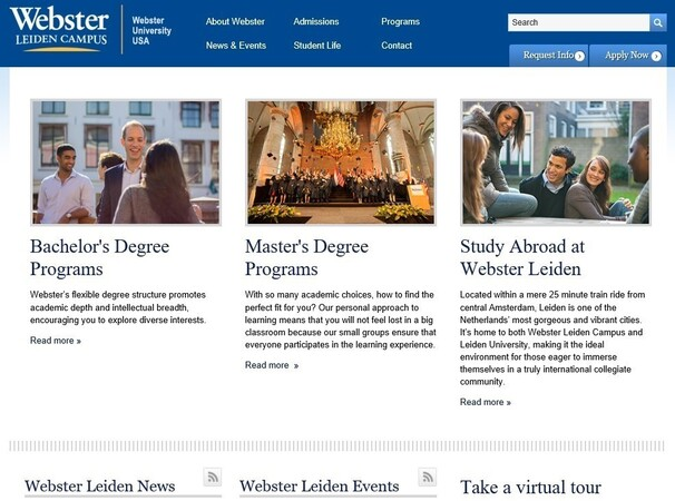 gastcollege webster university USA
